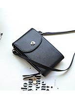 cheap -Women's Bags PU Wallet Buttons Black / Light Gray / Khaki