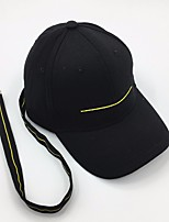 cheap -Unisex Vintage Active Polyester Sun Hat Baseball Cap - Solid Colored Beaded
