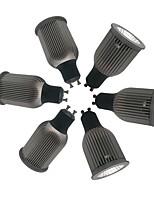 Недорогие -ZDM® 6шт 9W 1 светодиоды Точечное LED освещение Тёплый белый Холодный белый Естественный белый 85-265V Деловой Дом / офис