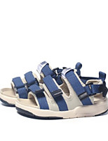 cheap -Girls' Shoes Leatherette Summer Comfort Sandals for Black / Red / Blue