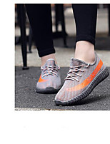 cheap -Unisex Shoes Tulle / PU(Polyurethane) Spring Comfort Sneakers Running Shoes Black / Gray / Red