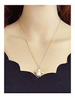 abordables -Femme Pendentif de collier  -  simple Décontracté Abeille Or 56.5cm Colliers Tendance Pour Fête / Soirée Ecole