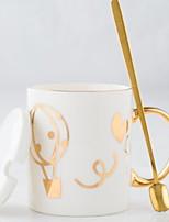 abordables -Drinkware Porcelaine Tasse Athermiques 2pcs