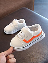 cheap -Girls' Shoes PU Spring Comfort Sneakers for Outdoor White Black Red