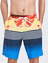 Недорогие -SBART Муж. Купальные шорты Водонепроницаемость, Быстровысыхающий, Пригодно для носки Полиэстер / Спандекс Купальники Одежда для пляжа