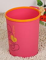 abordables -Cuisine Les fournitures de nettoyage Plastique Poubelle simple 1pc