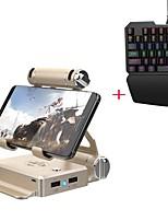 abordables -Gamesir Sans Fil Accessoires / Claviers Pour Android / iOS, Bluetooth Portable Accessoires / Claviers Métal 1pcs unité USB 3.0