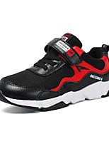 abordables -Garçon Chaussures Laine synthétique Eté Confort Chaussures d'Athlétisme Marche La boucle du crochet pour Athlétique Bleu de minuit Noir /