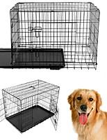 Недорогие -Собаки Дома Животные Корзины Компактность Складной Черный Для домашних животных