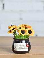 Недорогие -Искусственные Цветы 1 Филиал Деревня Подсолнухи Букеты на стол