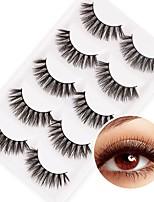cheap -Eye 1pcs Volumized / Natural / Curly Daily Makeup Full Strip Lashes / Thick Make Up Professional / Portable Portable / Professional Daily