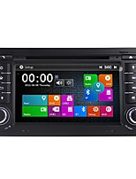 economico -Factory OEM 7 pollice 2 Din Windows CE 6.0 Bluetooth integrato / GPS / RDS per Audi Supporto / Schermo touch / DVD-R / RW / CD-R / RW