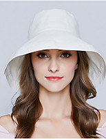 cheap -Women's Polyester Floppy Hat / Sun Hat - Solid Colored
