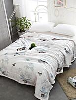 abordables -Confortable 1 Couvre-lit, Sergé Imprimé Fleur Printemps Eté