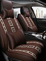 Недорогие -ODEER Чехлы на автокресла Подушки для подголовника и талии Кофейный текстильный Общий for Универсальный Все года Все модели