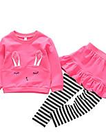 cheap -Toddler Girls' Geometric Long Sleeve Clothing Set
