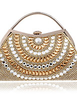 cheap -Women's Bags Acrylic / Rhinestones Evening Bag Beading / Crystals for Wedding / Event / Party Black / Silver / Red