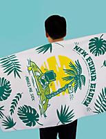 abordables -Qualité supérieure Drap de plage, Géométrique / Floral / Botanique Polyester / Coton 1 pcs