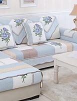 baratos -almofada do sofá Floral Estampado Algodão / Poliéster Capas de Sofa