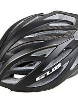 abordables -GUB® Adultes Casque de vélo 24 Aération CE / CPSC Résistant aux impacts, Réglable Fibre de carbone, EPS, PC Des sports Cyclisme / Vélo - Noir / Argent / Rouge