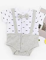 cheap -Baby Unisex Color Block Short Sleeve Bodysuit