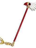 economico -Altri accessori Ispirato da Cardcaptor Sakura Sakura Kinomoto Anime Accessori Cosplay Portachiavi Lega