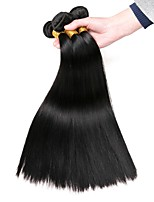 cheap -Eurasian Hair Straight Natural Color Hair Weaves / Human Hair Extensions 3 Bundles Human Hair Weaves Extention / Hot Sale Natural Black Human Hair Extensions All