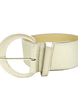 cheap -Women's Vintage Active Alloy Wide Belt - Solid Colored