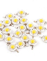 cheap -YouOKLight 50pcs High Performance LED Bulb Accessory LED Chip Pure Gold Wire LED Transparent 1W