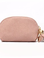 preiswerte -Damen Taschen PU Unterarmtasche Reißverschluss für Einkauf Rosa / Dunkelgrün / Braun