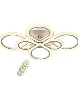 Недорогие -OYLYW 6-Light Монтаж заподлицо Рассеянное освещение AC100-240V, Диммируемый с дистанционным управлением, Светодиодный источник света в