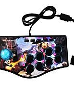abordables -NJP308 Câblé Contrôleurs de jeu Pour Sony PS3 / Polycarbonate / Sony PS2 Contrôleurs de jeu ABS 1pcs unité USB 2.0
