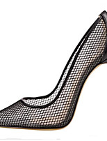 cheap -Women's Shoes Breathable Mesh Summer Comfort Heels Stiletto Heel Pointed Toe Gold / Black