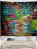 abordables -Vacances Décoration murale Polyester Classique Art mural, Tapisseries murales Décoration