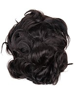 cheap -Men's Human Hair Toupees Wavy 100% Hand Tied Man Weave / Hot Sale / New Arrival