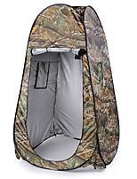abordables -1 personne Tente de douche / Tente avec Filet de Protection Double couche Tente de camping Extérieur Tente automatique Etanche / Pare-vent