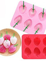 cheap -Bakeware tools Silicone Cute / DIY For Ice / Ice Cream / For Pudding Cake Molds 1pc