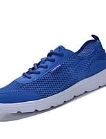 cheap -Men's Shoes Net Summer Comfort / Light Soles Sneakers Black / Gray / Blue