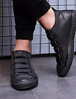 economico -Per uomo Scarpe PU (Poliuretano) Inverno Comoda Sneakers Nero