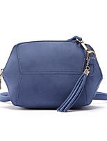 cheap -Women's Bags PU Leather Shoulder Bag Tassel Yellow / Dark Green / Brown