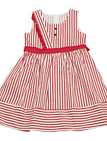 cheap -Toddler Girls' Striped Sleeveless Dress