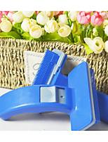 abordables -Chiens / Chats Nettoyage Peignes Durable / Lavable Bleu