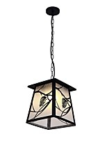 cheap -JLYLITE Rustic / Lodge Artistic Pendant Light Downlight - Mini Style, 110-120V 220-240V Bulb Not Included