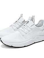 economico -Per uomo Scarpe A maglia Estate Comoda / Suole leggere Sneakers Corsa / Footing Bianco / Nero / Rosso