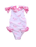 cheap -Toddler Girls' Print Sleeveless Swimwear
