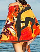 abordables -Qualité supérieure Drap de plage, Peinture Mélangé polyester / coton 1 pcs