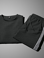 cheap -Men's Basic Activewear Set - Solid Colored