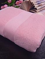 abordables -Qualité supérieure Serviette de bain, Couleur Pleine / Rayé Polyester / Coton / 100% Coton 1 pcs
