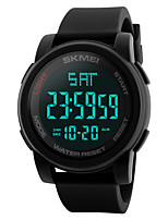cheap -Men's Women's Digital Digital Watch Sport Watch Chinese Calendar / date / day Water Resistant / Water Proof Casual Watch Dual Time Zones