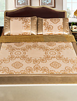 preiswerte -Bettbezug-Sets Blumen Naturfaser Eis Seide Jacquard 3 Stück